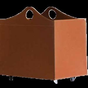 woodbag braun