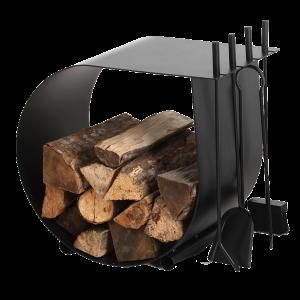 Holzaufbewahrung mit Besteck 3