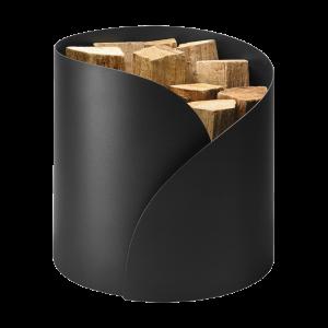 Holzkorb metall glatt